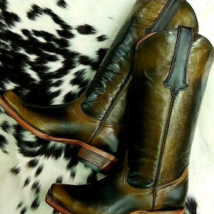 Lucinda Copper Distressed Boot