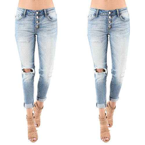 Kan can low rise jeans