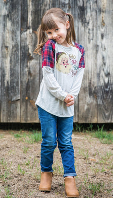 Girls' Ho Ho Ho Y'all Tunic Top