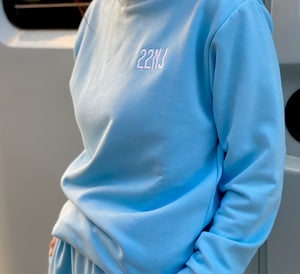 22NJ Sky Blue Unisex Sweatshirt