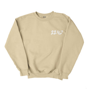 22NJ Rock Krem Unisex Sweatshirt