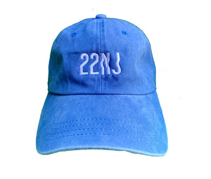 22NJ Denim Blue Unisex Şapka