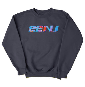 22NJ Dreamy Füme Unisex Sweatshirt