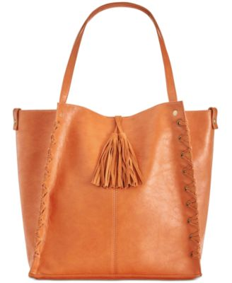 INC International Concepts Venice Whipstitch Medium Tote - Desireez