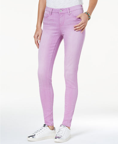 Celebrity Pink Colored Skinny Jeans - Desireez