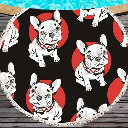 Frenchie Towels