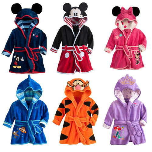 Disney Bath Robes for Kids