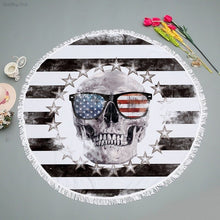 American Skull Towell