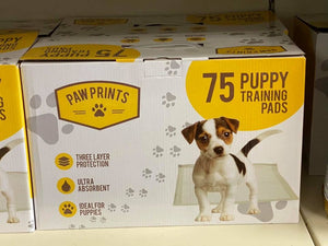 Paw Prints Puppy Training Pads