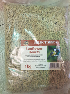 Sunflower Hearts 1kg - Creepy Critters