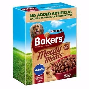 Baker Meaty Meals Beef 1kg D - Creepy Critters