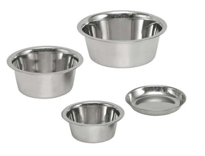 "Dog Bowl Stainless Steel 6.5"" D - Creepy Critters"