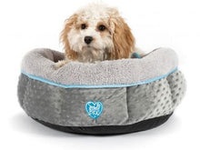 Load image into Gallery viewer, Black Friday Only- SMALL BITE DONUT DOG BED - Creepy Critters