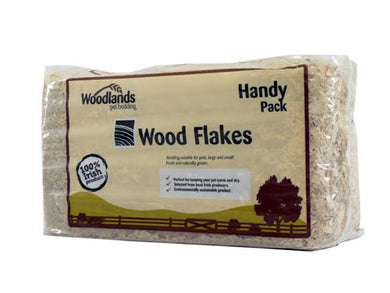 Woodlands Pet Bedding Wood Flakes