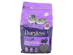 Burgess Excel Chinchilla Nuggets 1.5kg - Creepy Critters
