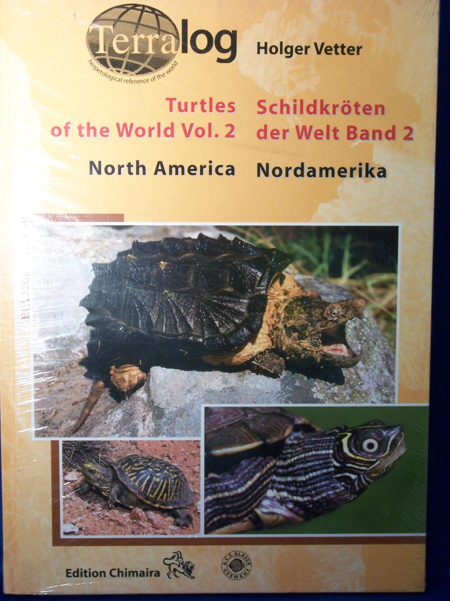 Terralog 2 Turtles of the World, Vol. 2 - Creepy Critters