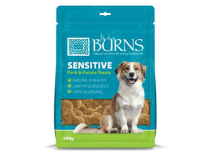 Burns Senstive Pork & Potato Treats for Dogs 200g