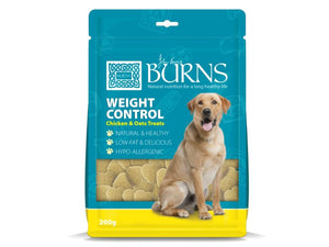 Burns Weight Control Chicken & Oats Treats for Dogs 200g