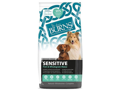 Burns Sensitive With Fish for Dogs