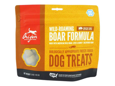 Orijen Wild-Roaming Boar Formula Dog Treat 42.5g