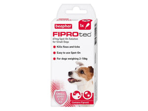 Beaphar FIPROtec Spot-On for Dogs