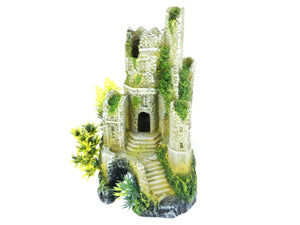 Classic Castle Ruin Aquarium Ornament 9