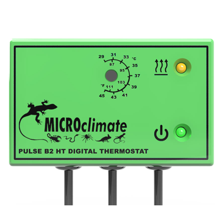 Microclimate Pulse B2 HT Green 600W (HiTemp) - Creepy Critters