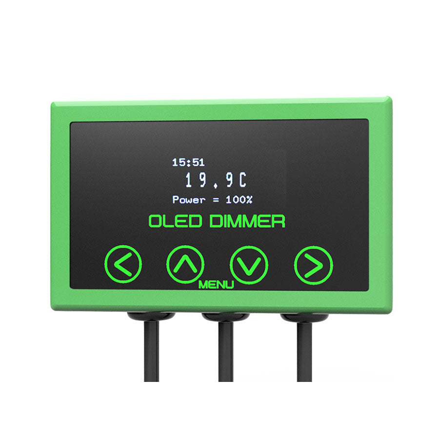 Microclimate OLED Dimmer Green 600W - Creepy Critters