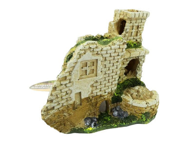 Cheeko Aqua-Dreamcscapes Castle Ruins Aquarium Ornament 10cm