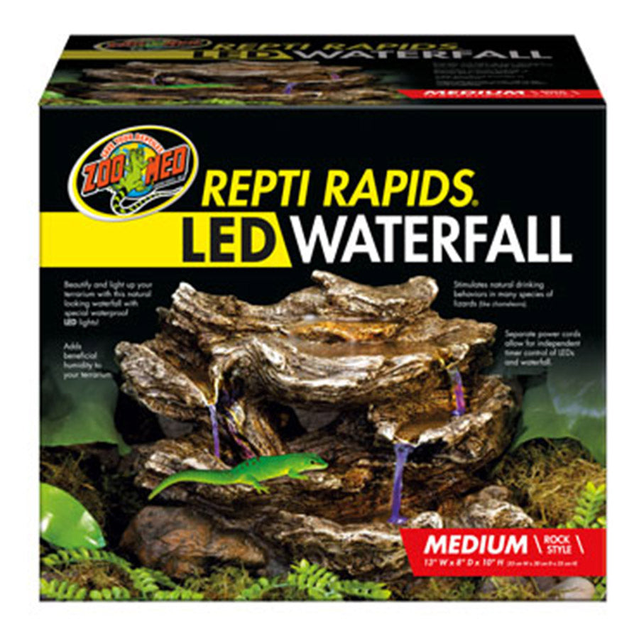 *ZM ReptiRap.LED Waterfall Med Rock RR-23 - Creepy Critters