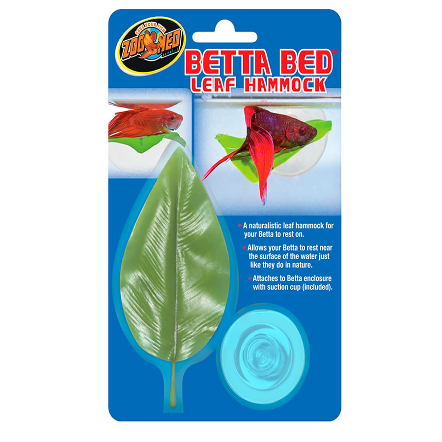 ZM Betta Bed Leaf Hammock, BL-20E - Creepy Critters