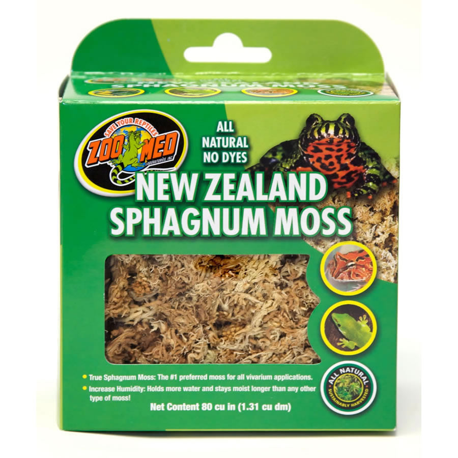 ZM New Zealand Sphagnum Moss 1.3L CF3-NZ - Creepy Critters
