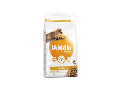 Iams Cat Adult/Senior Hairball Reduction Chicken 2kg