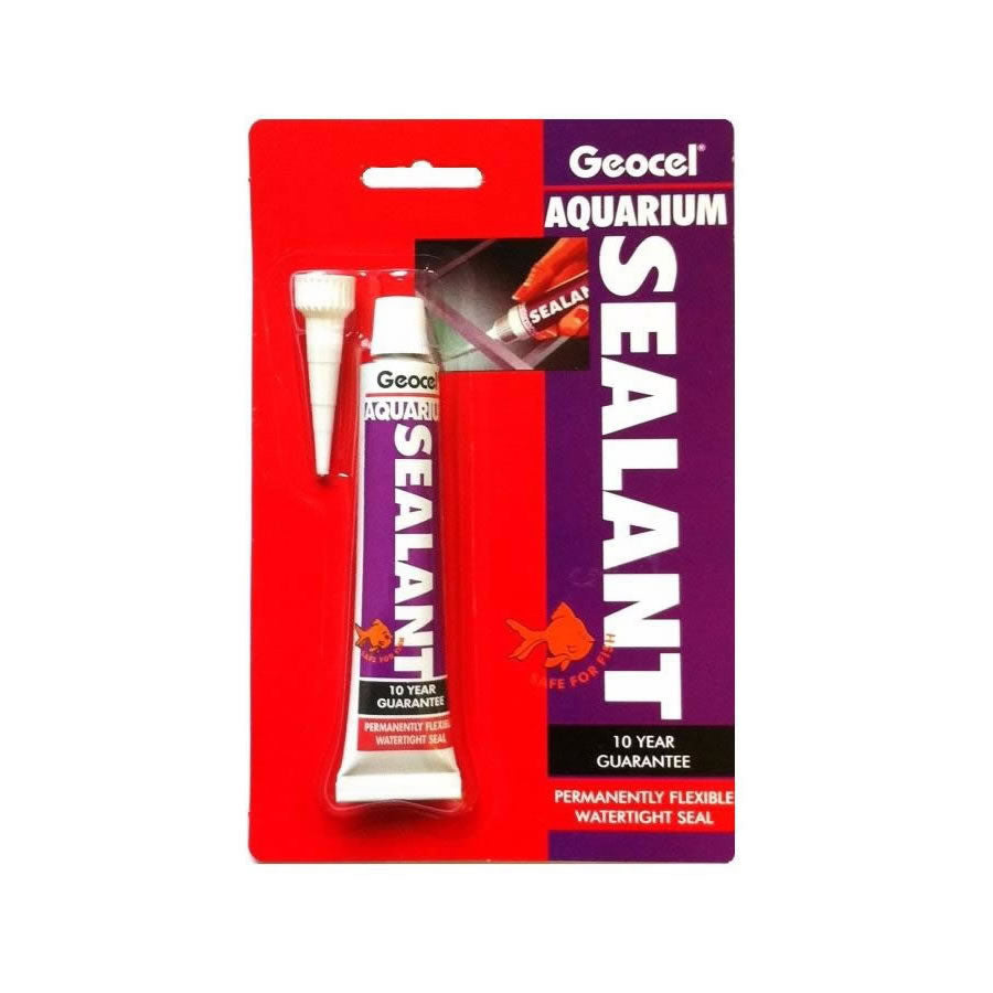 Geocel Aquarium Sealant, 78g - Creepy Critters