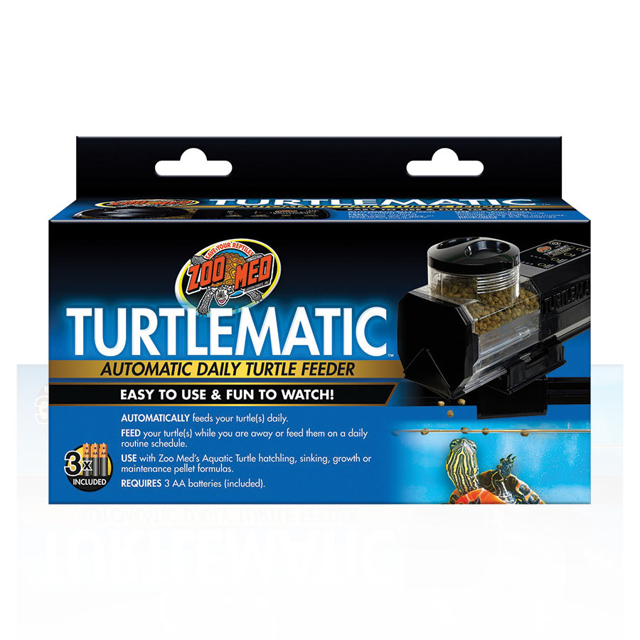 ZM TurtleMatic Automatic Feeder, TF-10E - Creepy Critters