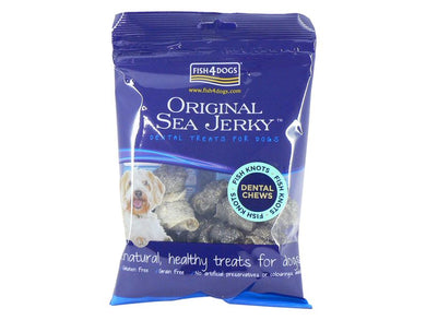 Fish4Dogs Jerky Fish Knots 100g