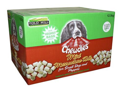 Fold Hill Chewdles Mini Marrowbone Rolls 12.5kg