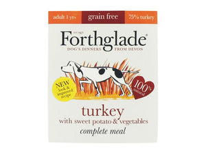 Forthglade Complete Grain-Free Turkey & Sweetpot 395g