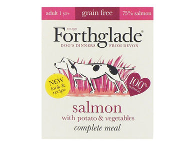 Forthglade Complete Meal Salmon with Potato & Vegetables 395g