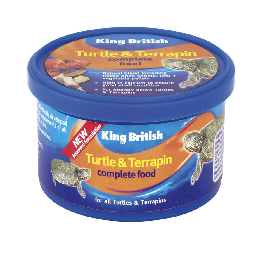 King British Turtle/Terrapin Food 80g - Creepy Critters