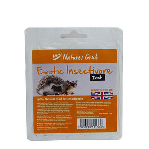 NG Exotic Insectivore Diet 150g Tray - Creepy Critters