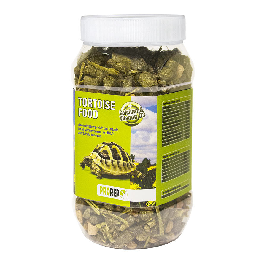 PR Tortoise Food, 500g Jar, FPT050 - Creepy Critters