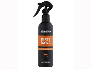 Animology Dirty Dawg No Rinse Dog Shampoo Spray Bottle 250ml