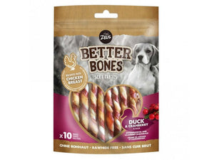 Zeus Better Bones Soft Treats Duck & Cranberry