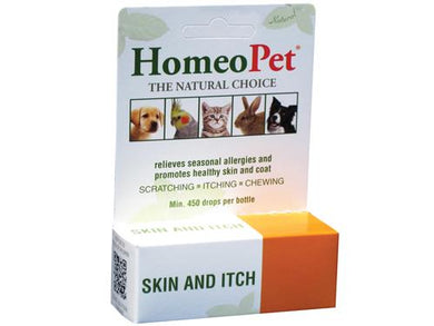HomeoPet Skin & Itch Relief for Pets 15ml