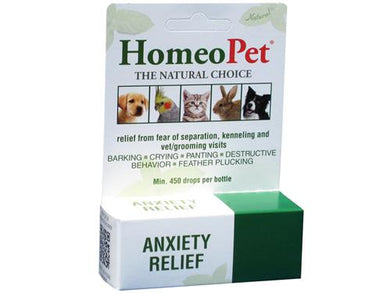 HomeoPet Anxiety Relief for Pets 15ml