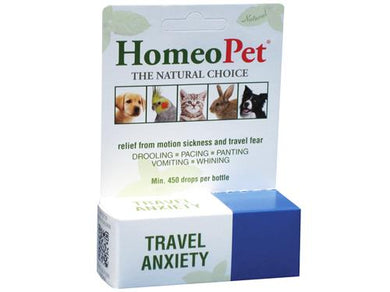 HomeoPet Travel Anxiety Relief for Pets 15ml