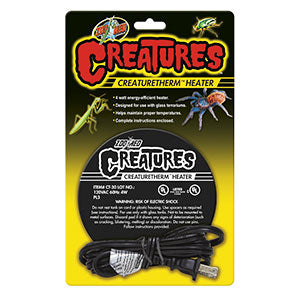 ZM CreatureTherm Heater, CT-30UK - Creepy Critters