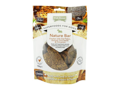 Irish Rover Select Superfoods for Dogs Nature Bar 100g