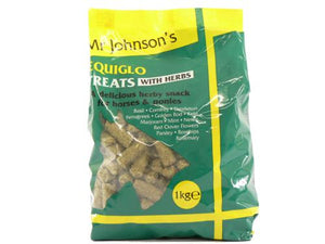 JH Equiglo Horse Treats with Herbs 1kg